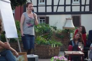 Karen Schewina erklärt den Schmetteringseffekt